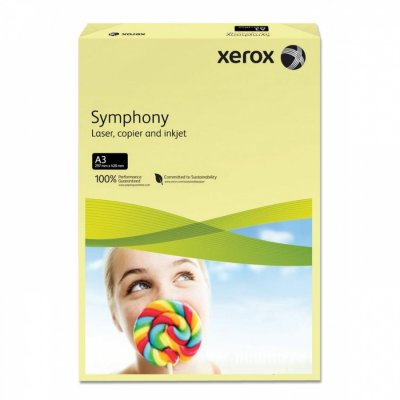 Цветна хартия Xerox Жълт A3 500 л. 80 g/m2