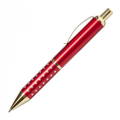 Химикалка GL3148, пластмасова, червена