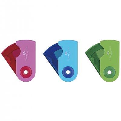 Faber-Castell Острилка Sleeve, малка, цветове асорти