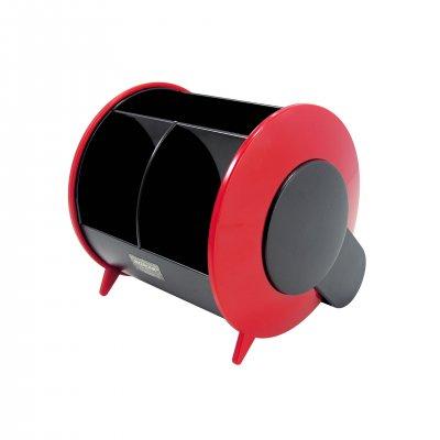 O-Life Органайзер за бюро S-898, празен, черно-червен