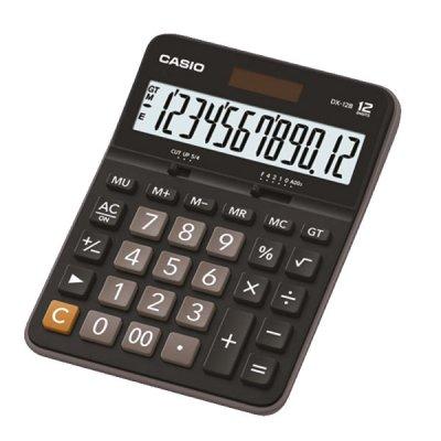 Casio Настолен калкулатор DX-12B, 12-разряден, черен