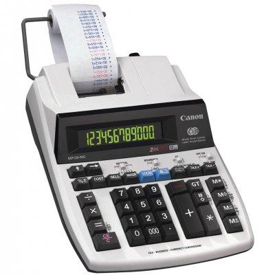 Canon Печатащ калкулатор MP120-MG, с лента, настолен, 12-разряден, двуцветен печат