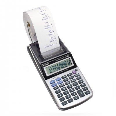 Canon Печатащ калкулатор P1, с лента, преносим, 12-разряден, двуцветен печат