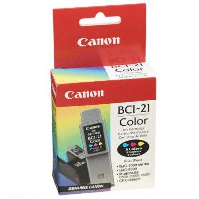 Патрон Canon BCI-21Col цветен
