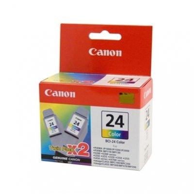 Патрон двоен цветен Canon BCI-24Col Twin Pack