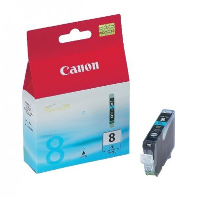 Патрон цветен photo cyan Canon CLI-8PC