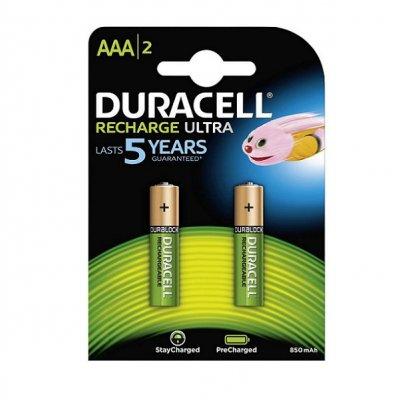 Акумулатрна батерия Duracell 1.2V AAA 4BCd 800 mAh 2 бр