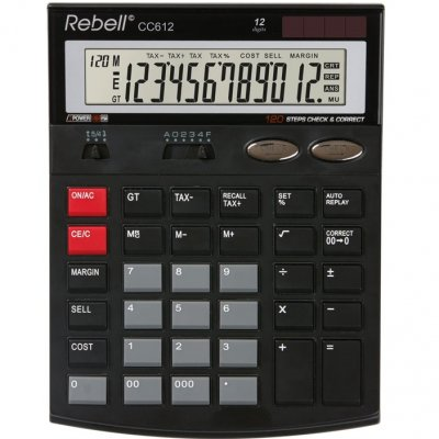 Настолен калкулатор Rebell CC 612