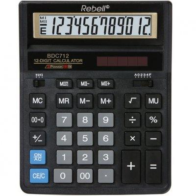Настолен калкулатор Rebell BDC712