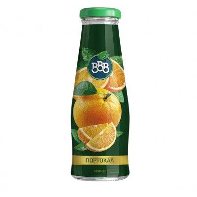 Сок ВВВ портокал 50% стъкло 250 ml