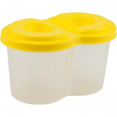 Чаша за рисуване Kite двойна неразливаща Жълт