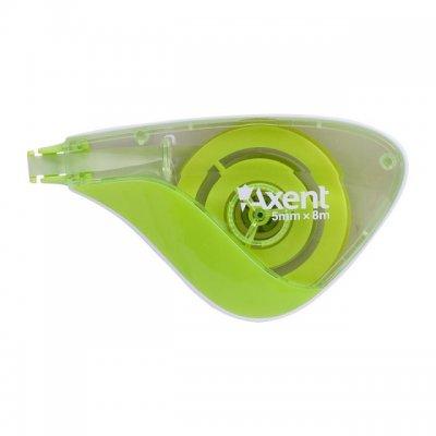 Коректор-ролер Axent 5mm x 8 m Зелен