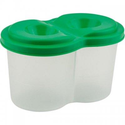 Чаша за рисуване Kite двойна неразливаща Зелен