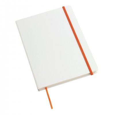 TOPS Тефтер Author във формат DIN A5, оранжево-бял