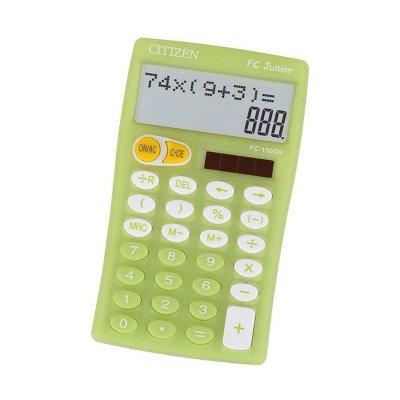 Citizen Настолен калкулатор FC100, 10-разряден, зелен