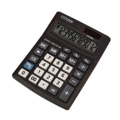 Citizen Настолен калкулатор CMB 1201-BK, 12-разряден, черен