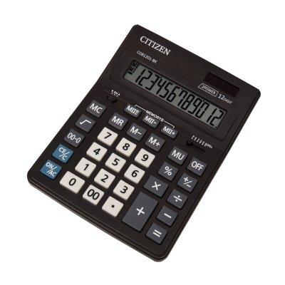 Citizen Настолен калкулатор CDB 1201-BK, 12-разряден, черен