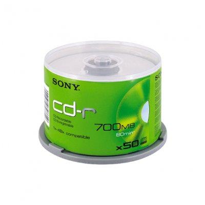 CD-R Sony 48x 700 MB шпиндел 50 бр.