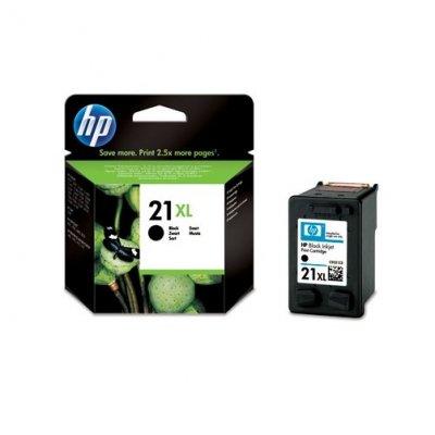 HP no. 21 XL патрон черен 12 ml