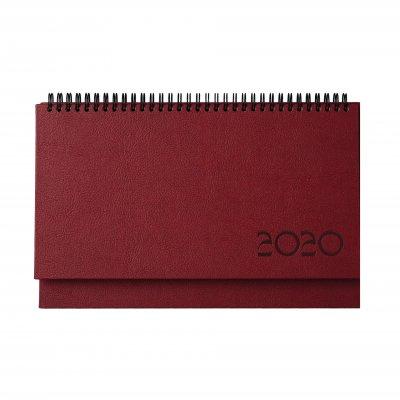 Настолен календар Казбек, 30 x 15.5 cm, бордо