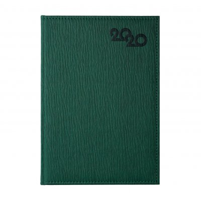 Календар-бележник София, без дати, A4, зелен