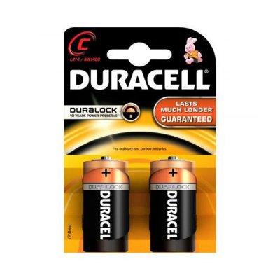 Duracell Алкална батерия, C, LR14, 1.5 V, 2 броя