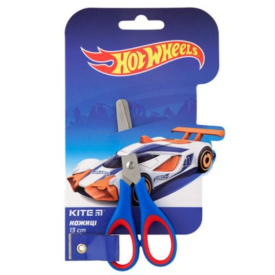 Детска ножица Kite Hot Wheels 13 cm Блистер