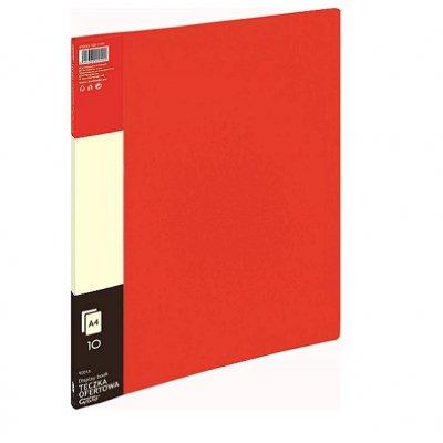 Папка с 10 джоба Grand 9001A Червен