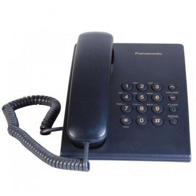 Телефон Panasonic KX-TS500 Син