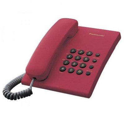 Телефон Panasonic KX-TS500 Червен