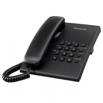Телефон Panasonic KX-TS500 Черен