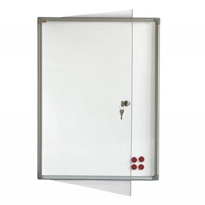Инфо бяло магн. табло заключване 2x3 120x180
