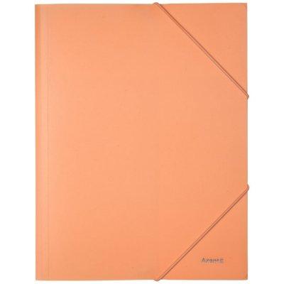 Папка PP с ластик A4 Axent Pastelini Оранжева