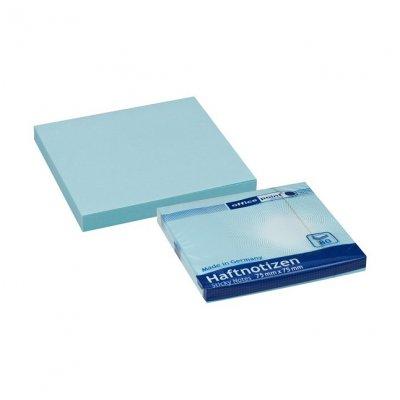Самозалепващи листчета Office Point Син пастел 75х75 mm 80 листа