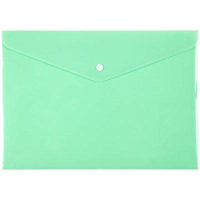 Папка джоб с копче Axent Pastelini Светлозелен