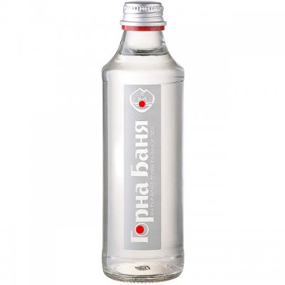 Минерална вода Горна Баня 0.330 l стъклена бутилка