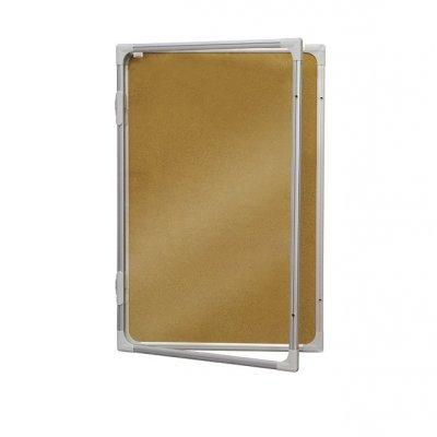 Инфо корково табло заключване 2x3 90x120 cm ( около 16xA4)