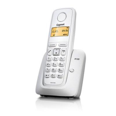 Безжичен телефон Gigaset A120 Бял