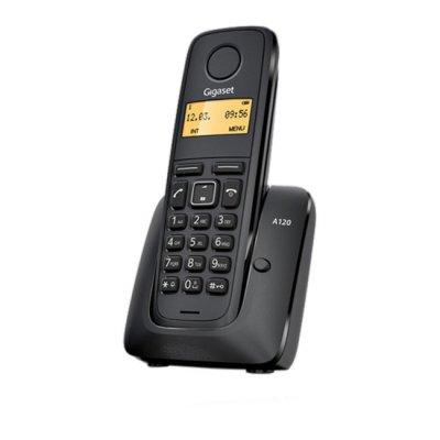 Безжичен телефон Gigaset A120 Черен