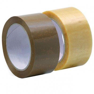 Лепяща опаковъчна лента Solvent 48 mm x 66 m