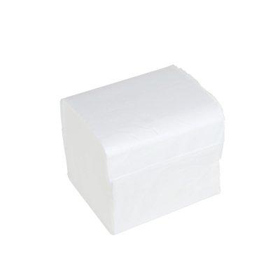 Тоалетна хартия Perfetto на пачки Бял
