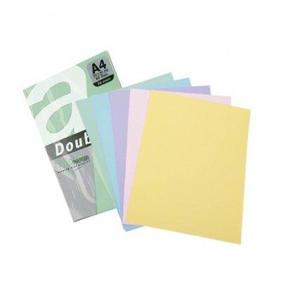 Цветна хартия Double A паст.Violet A4 50 л. 80 g