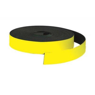Магнитна лента Bi-Office 10 mm x 5 m Жълт