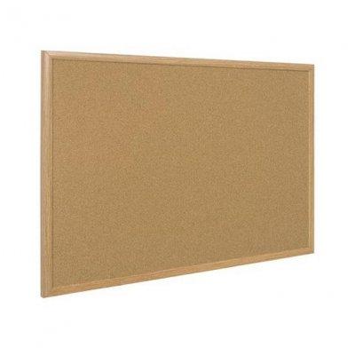 Коркова дъска с дървена рамка 60х90 cm Bi-Office