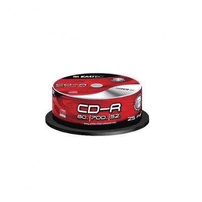 CD-R Emtec 52 x 700 MB шпиндел 10 бр.