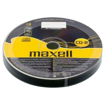 CD-R80 Maxell 700MB, 52x, 10 бр