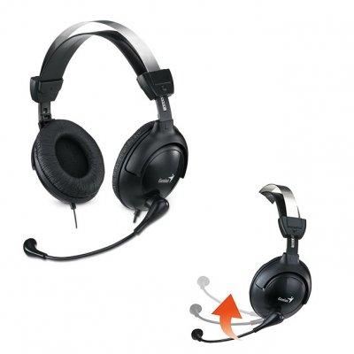Слушалки с микрофон Genius HS-505 X черен