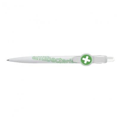 Автоматична химикалка ICO антибактериална 0.8mm Син