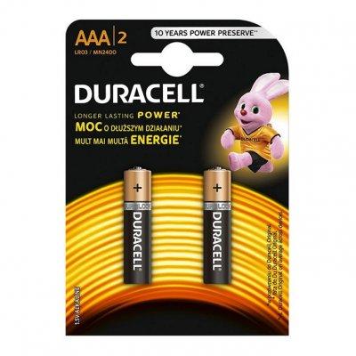 Алкална батерия Duracell Basic 1.5V LR3/AAA 2 бр.