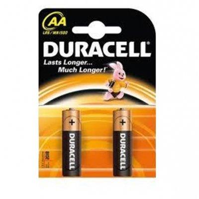 Алкална батерия Duracell Basic 1.5V LR6/AA 2 бр.